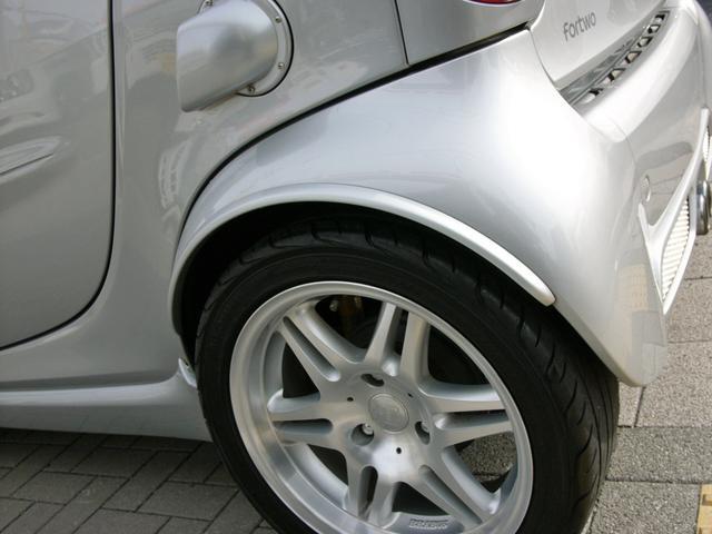 スマート スマートフォーツークーペ ブラバス最終モデル 限定車 ビルシュ足廻小径パドルForge