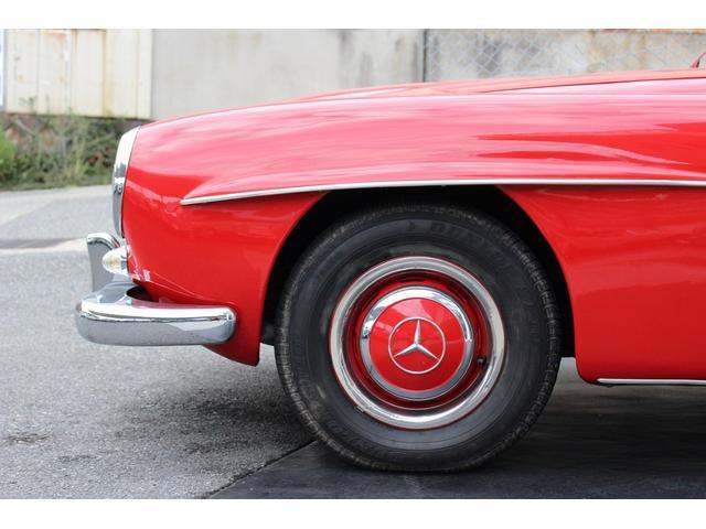 190SL W121 4MT 1960年式 幌張り替え済み(8枚目)