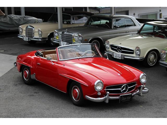 190SL W121 4MT 1960年式 幌張り替え済み(10枚目)