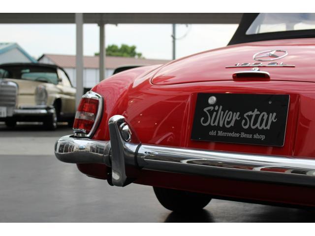 190SL W121 4MT 1960年式 幌張り替え済み(12枚目)