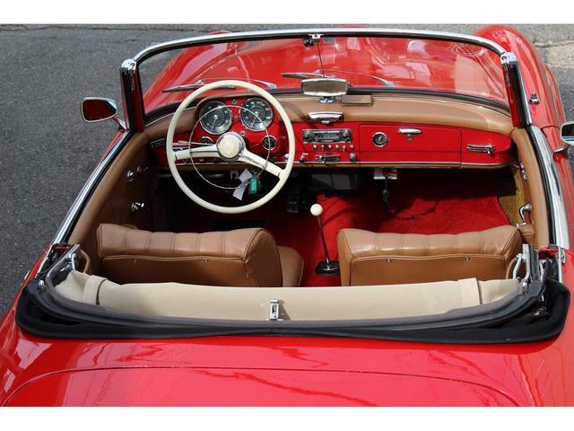 190SL W121 4MT 1960年式 幌張り替え済み(13枚目)