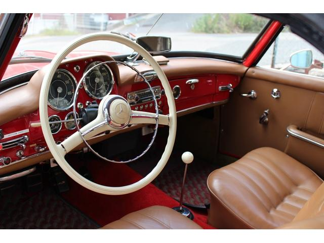 190SL W121 4MT 1960年式 幌張り替え済み(16枚目)