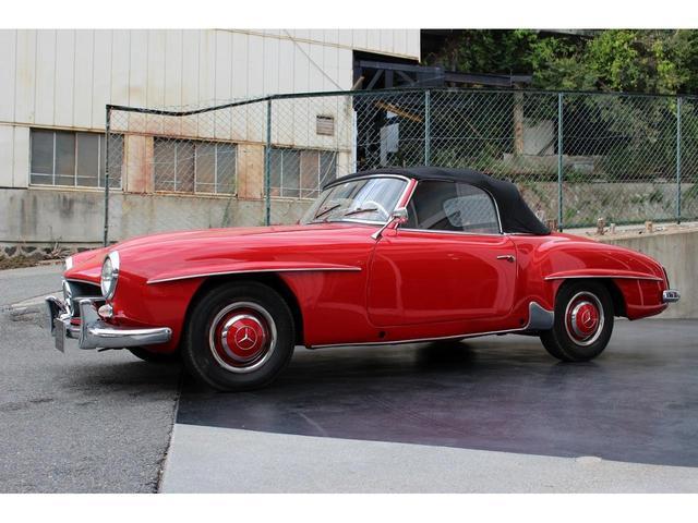 190SL W121 4MT 1960年式 幌張り替え済み(22枚目)
