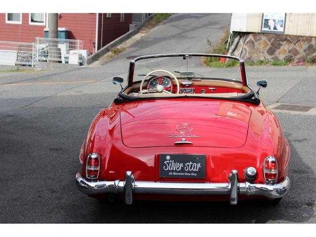 190SL W121 4MT 1960年式 幌張り替え済み(25枚目)