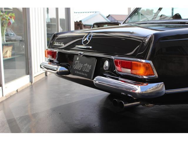 280SL W113 4AT 1969年式 禁煙車(8枚目)