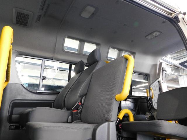 ウェルキャブ Bタイプ ロング 福祉車両 車イス2台固定(16枚目)