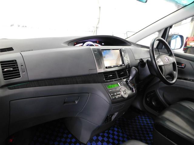 アエラス レザーパッケージ両電動ドア8型ナビTV天井モニター(18枚目)