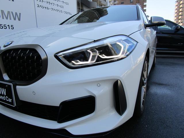 M135i xDrive 弊社デモカー 新車保証継承 リバースアシスト アクティブクルーズ 電動リアゲート 電動フロントシート コンフォートアクセス 18インチAW バックカメラ 全周囲センサー 衝突軽減ブレーキ SOSコール(50枚目)