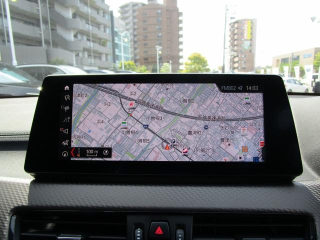 xDrive 18d MスポーツX 弊社デモカー コンフォートパッケージ・10.25インチHDDナビ・フロントシートヒーター・フロント電動シート・LEDヘッドライト・ミュージックコレクション・衝突軽減ブレーキ・SOSコール・システム(10枚目)