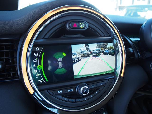 クーパー 3ドア 60周年限定車 専用ダークマロンレザーシート 専用レザーステアリング シートヒーター LEDライトパッケージ ペッパー クルコン 安全装備(12枚目)