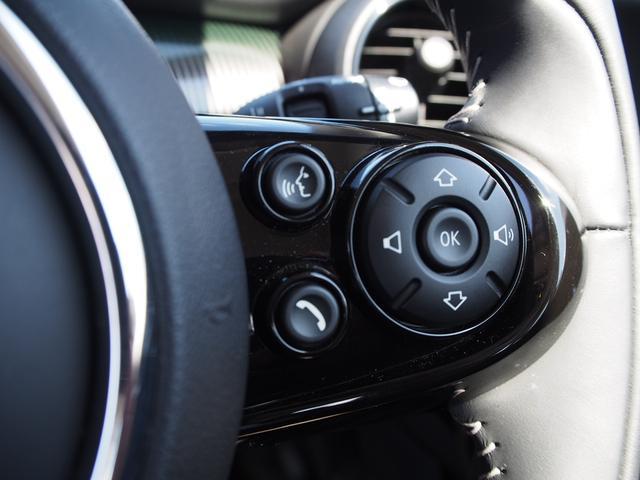 クーパー 3ドア 60周年限定車 専用ダークマロンレザーシート 専用レザーステアリング シートヒーター LEDライトパッケージ ペッパー クルコン 安全装備(15枚目)