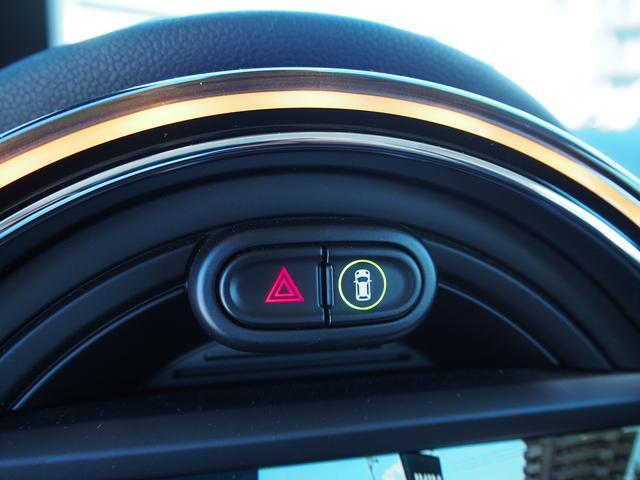 クーパー 3ドア 60周年限定車 専用ダークマロンレザーシート 専用レザーステアリング シートヒーター LEDライトパッケージ ペッパー クルコン 安全装備(16枚目)