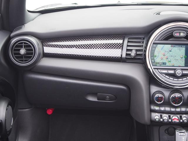 クーパーS コンバーチブル ペッパーパッケージ カメラパッケージ 衝突被害軽減ブレーキ アクティブクルーズコントロール 17インチブラックホイール フロントシートヒーター(14枚目)