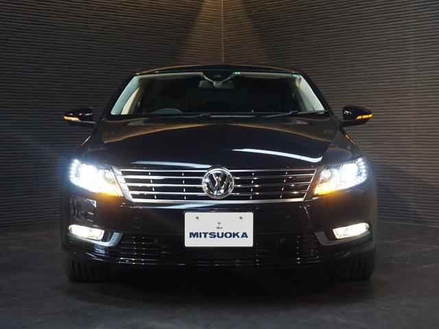 フォルクスワーゲン VW フォルクスワーゲンCC TSIテクノロジーPKG 本革シート 純正SDナビ ACC