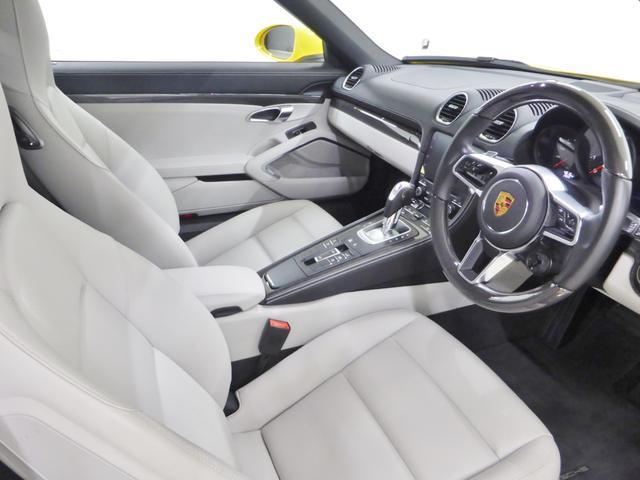 718ボクスター デモカー 禁煙車 新車保証継承 右ハンドル(3枚目)