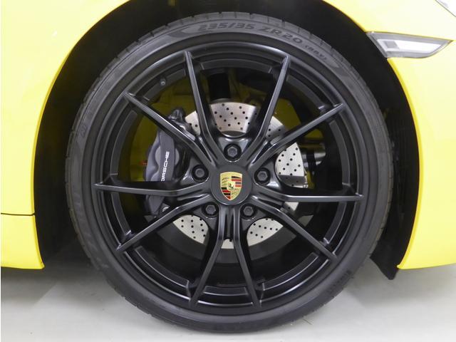 718ボクスター デモカー 禁煙車 新車保証継承 右ハンドル(4枚目)