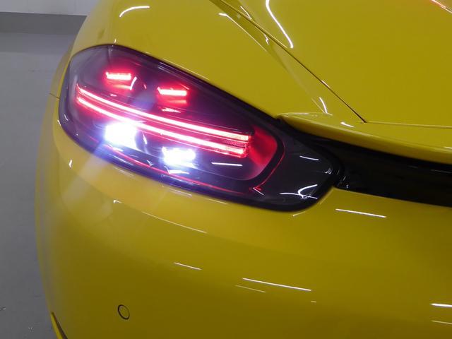 718ボクスター デモカー 禁煙車 新車保証継承 右ハンドル(10枚目)