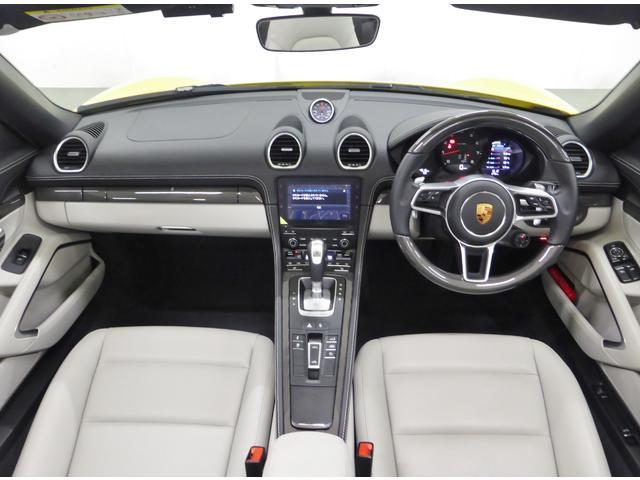 718ボクスター デモカー 禁煙車 新車保証継承 右ハンドル(12枚目)