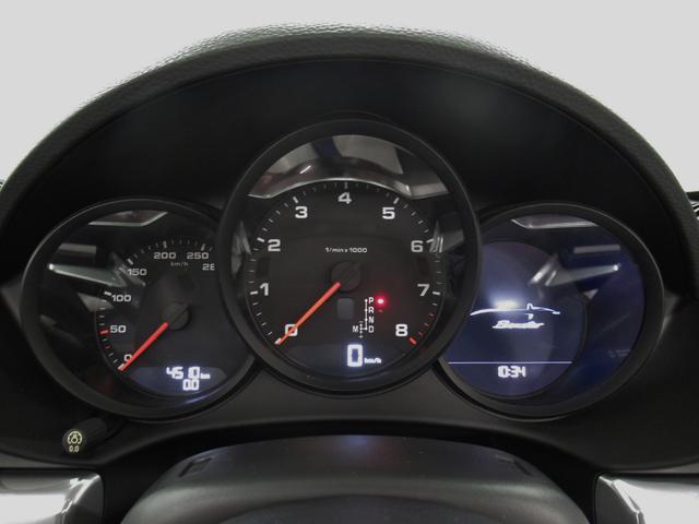 718ボクスターPDK 禁煙車 1オーナー新車保証 認定保証(14枚目)