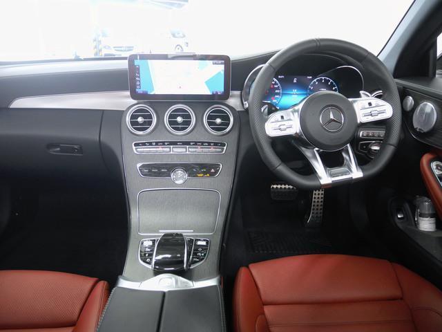 C43 4マチック カブリオレ 4年保証 新車保証(3枚目)
