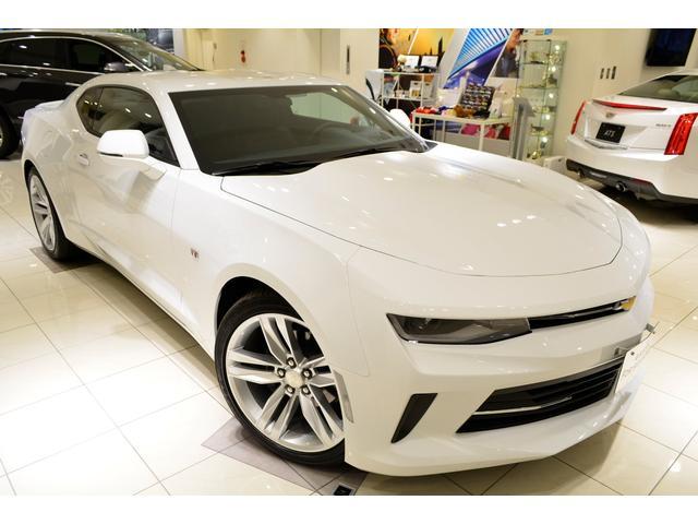 シボレー シボレー カマロ LT RS GM正規D車 新車未登録 サンルーフ 黒レザー