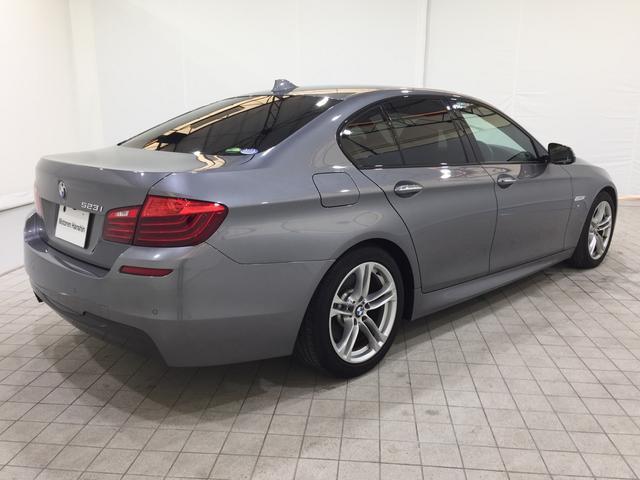 BMW BMW 523i Mスポーツ後期モデルHDDナビ茶レザーワンオーナ-