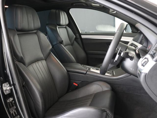 M5認定保証サンルーフLEDヘッドライト黒革右ハンドル(5枚目)