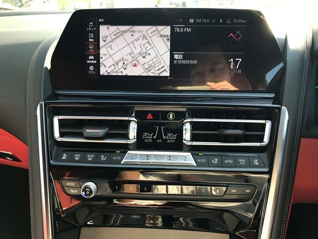 M850i xDriveクーペ Bowers&Wilkinsダイヤモンドサラウンドサウンドシステム カーボンルーフ メリノレザーコンビシート ベンチレーションシート シートヒーティング HDDナビ地デジ 電動トランク ソフトクローズ(14枚目)