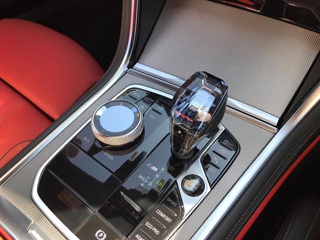 M850i xDriveクーペ Bowers&Wilkinsダイヤモンドサラウンドサウンドシステム カーボンルーフ メリノレザーコンビシート ベンチレーションシート シートヒーティング HDDナビ地デジ 電動トランク ソフトクローズ(25枚目)