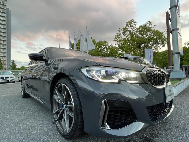 M340i xDrive 高速道路渋滞時ハンズ・オフ・アシスト オイスターレザー パーキングアシストプラス レーザーライト 19インチAW ハーマンカードンスピーカー ヘッドアップディスプレイ  衝突軽減ブレーキ G20(24枚目)
