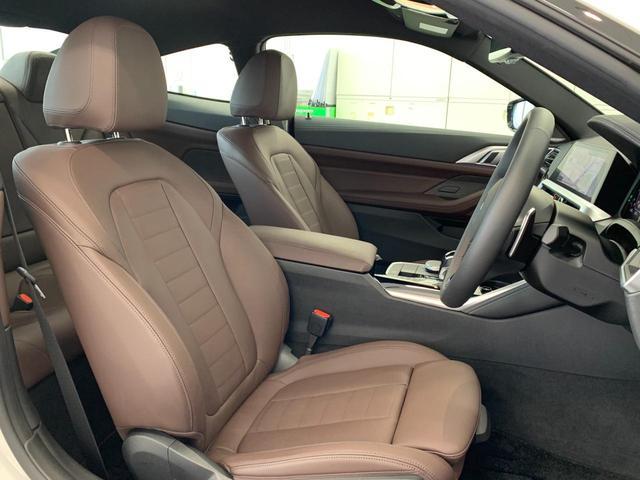M440i xDriveクーペ ワンオーナー アクティブベンチレーション モカレザーシート BMWレーザーライト アダプティブMサスペンション Mブレーキ ヘッドアップディスプレイ ジェスチャーコントロール 地デジ ハーマンカードン(13枚目)