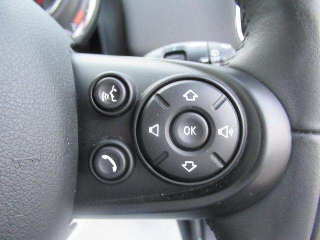 クーパーS クロスオーバー バックモニター&フロントリア障害物センサー HDDナビ 純正18インチアルミホイール ペッパーパッケージ AUX Bluetooth コンフォートアクセス(32枚目)