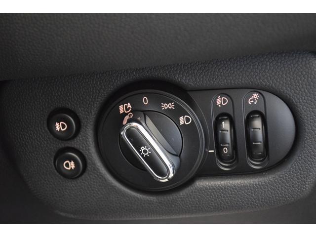 クーパーD クラブマン ペッパーパッケージ LEDパッケージ ドライビングアシスト アクティブクルーズコントロール 社外地デジTV ミラー内蔵型ETC 17AW リヤビューカメラ LEDディスプレイリング リヤ障害物センサー(25枚目)
