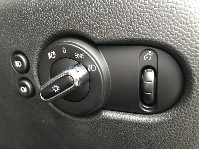 クーパーSD セブン ワンオーナー シルバールーフ モルトブラウンコンビシート レールスポーク17インチAW シルバールーフ ペッパーPKG LEDヘッドライト 純正HDDナビ 純正ミラーETC フロントフォグランプ(25枚目)