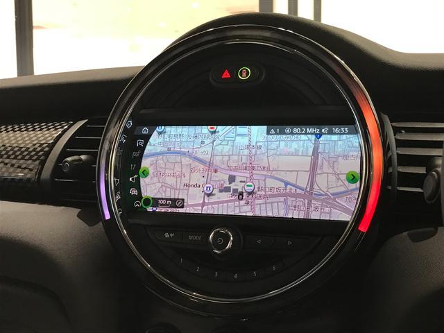 クーパーS オプション17インチAW デジタルPKG ペッパーPKG カメラPKG クロスシート シートヒーター ヘッドアップディスプレイ 社外地デジ アームレスト ホワイトルーフ インテリジェントセーフティ(10枚目)