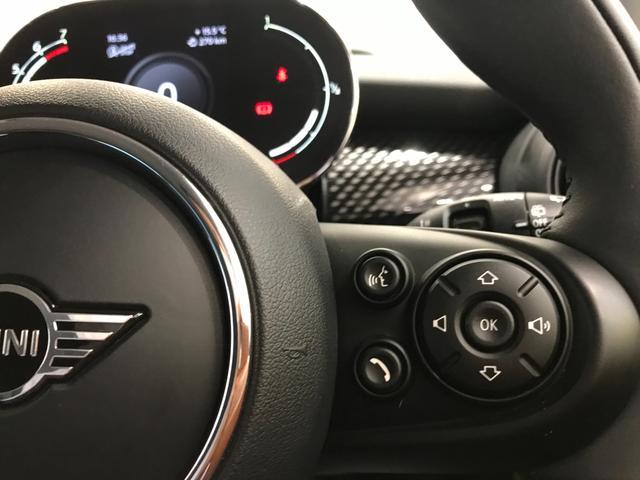 クーパーS オプション17インチAW デジタルPKG ペッパーPKG カメラPKG クロスシート シートヒーター ヘッドアップディスプレイ 社外地デジ アームレスト ホワイトルーフ インテリジェントセーフティ(23枚目)