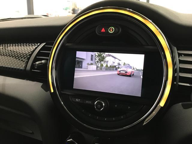 クーパーS オプション17インチAW デジタルPKG ペッパーPKG カメラPKG クロスシート シートヒーター ヘッドアップディスプレイ 社外地デジ アームレスト ホワイトルーフ インテリジェントセーフティ(38枚目)