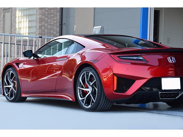 ホンダ NSX OPカラーバレンシアレッド カーボンセラミックブレーキ