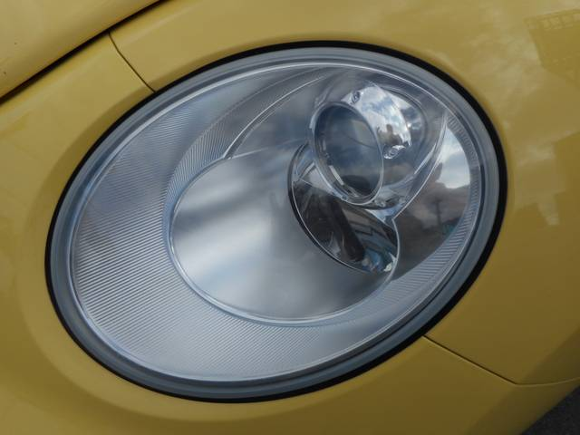フォルクスワーゲン VW ニュービートル ベースグレード ワンオーナー 社外HDDナビ ETC