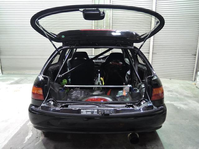 SiRII無限リップ車高調タコ足ストレートマフラーLSD(14枚目)