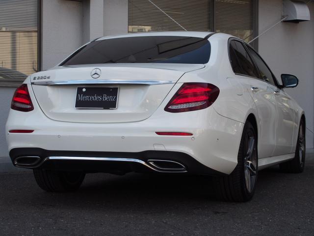 E220d AVスポーツ レザーP ワンオーナー新車保証継承(2枚目)