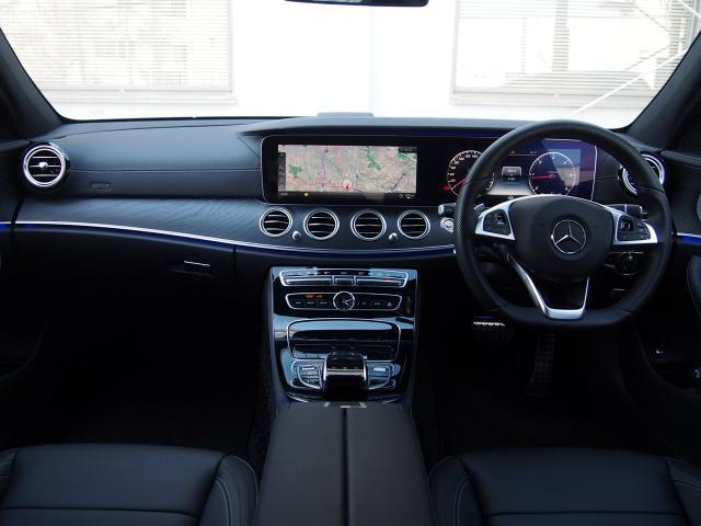 E220d AVスポーツ レザーP ワンオーナー新車保証継承(4枚目)