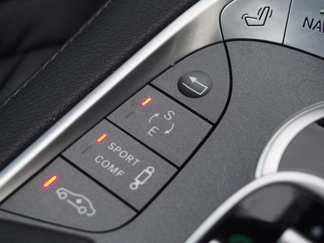 【AIRマティックサスペンション】サスペンションモードは「Comfort」と「Sport」をご選択可能!