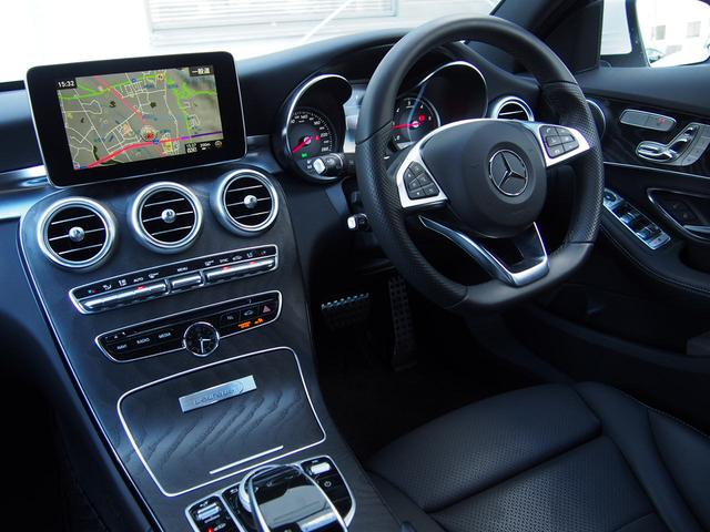C220dローレウスエディション ワンオーナー 新車保証継承(14枚目)