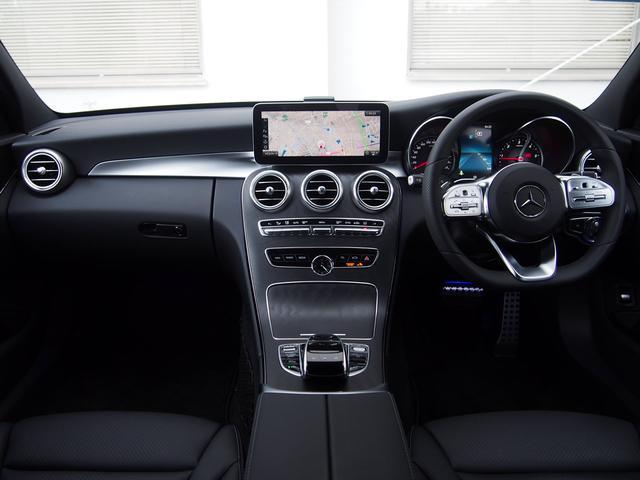 C220dワゴンAV AMGライン 新車保証継承ワンオーナー(4枚目)