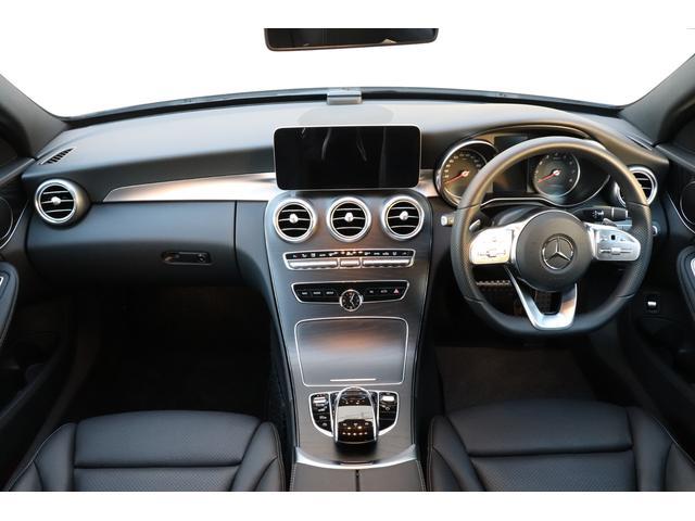 C200AV AMGライン 新車保証継承 デモカー(4枚目)