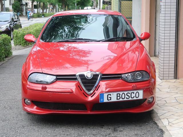 アルファロメオ アルファ156スポーツワゴン GTA ヌヴォラレッド ビルシュタイン車高調 オレカ等長EX