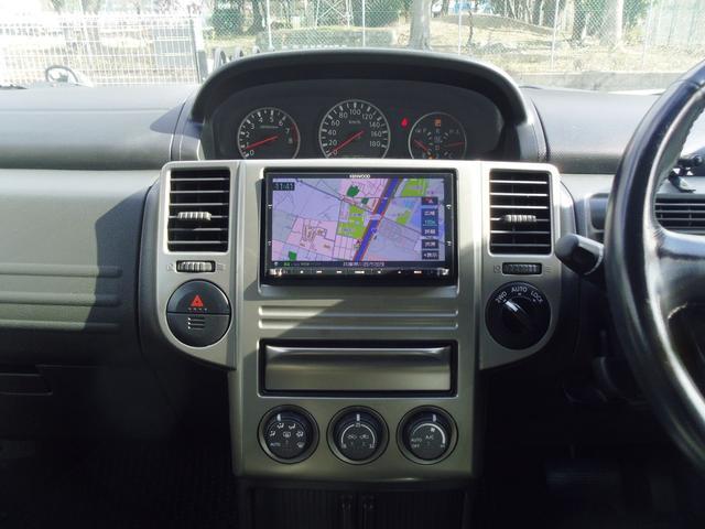 日産 エクストレイル Xt 4WDBFGタイヤ社外アルミ社外ナビ地デジBカメラ