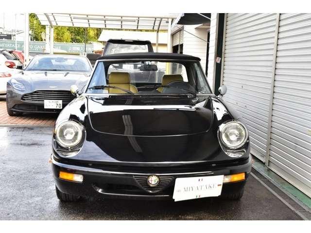 「アルファロメオ」「アルファスパイダー」「オープンカー」「奈良県」の中古車3
