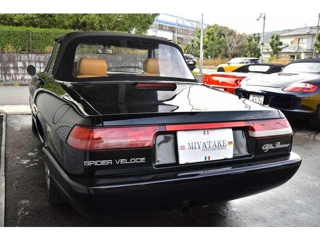 「アルファロメオ」「アルファスパイダー」「オープンカー」「奈良県」の中古車6